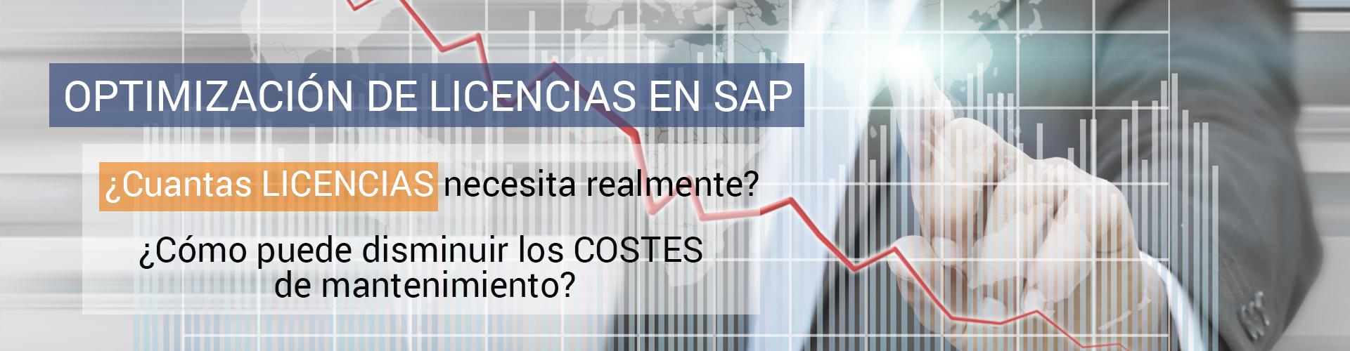 Optimización de licencias SAP